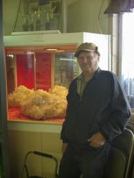 James Fecho and his Quartz Donation at the QIA