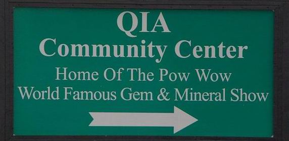 QIA Powwow Highway Sign