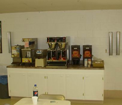 Coffee Service Area