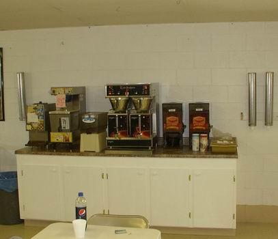 Coffee Service Area