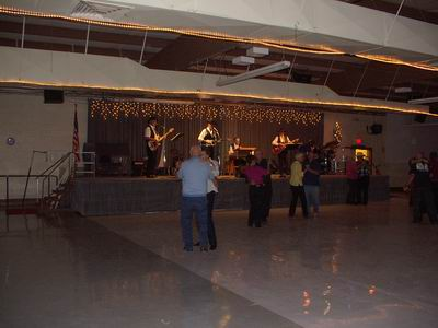 Shinny Dance Floor at the QIA