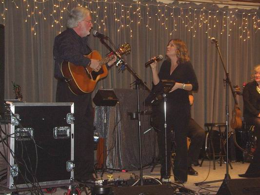 Greg & Jennifer performing a duet of Greg's song -