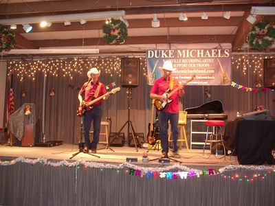 Duke Michaels and Orin Anderson at the QIA New Year's Eve