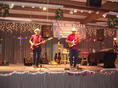 Duke Michaels at the QIA New Year's Eve
