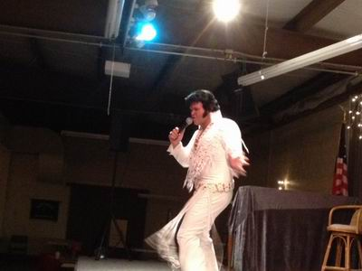 Elvis Show at the QIA - Jan 7, 2014
