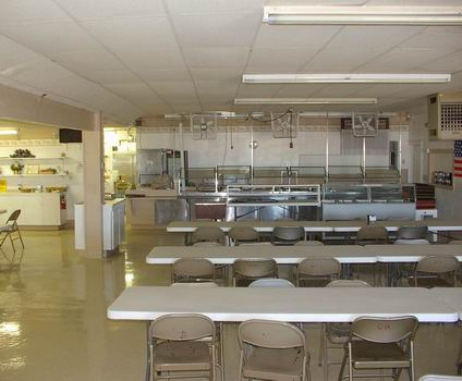 Cafeteria Food Service Area