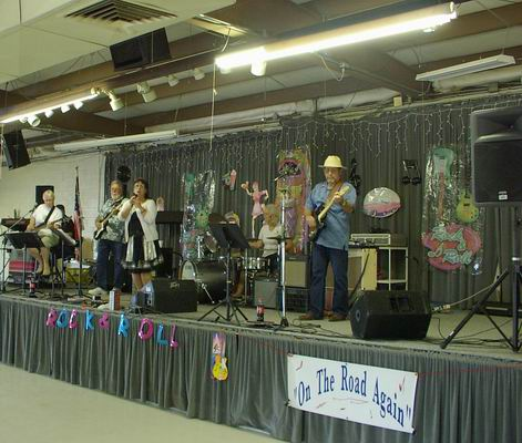 On the Road Again Band at the QIA