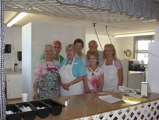 Saturday's Team of Concession Volunteers at the Q
