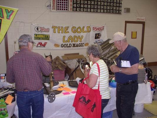 Gold Show inside area