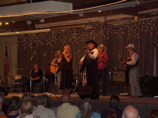 Howard & Sandy performing at the Grand Gathering Benefit.