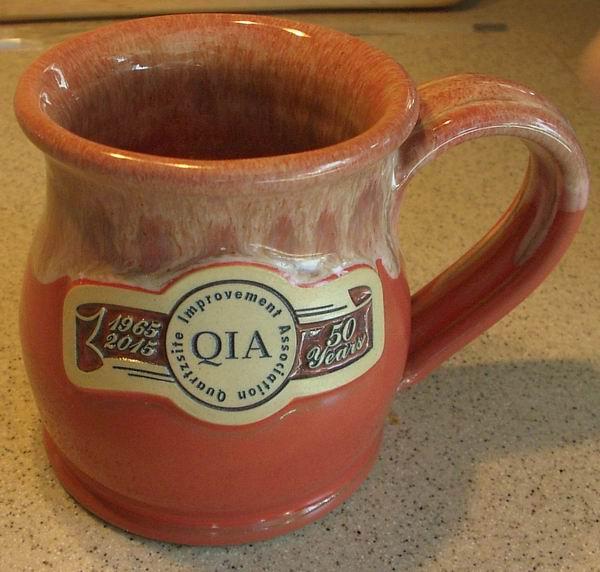 Frosting inside QIA Mug