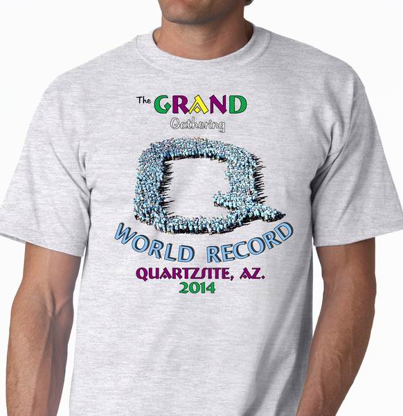 World Record Grand Gathering Tee Shirt
