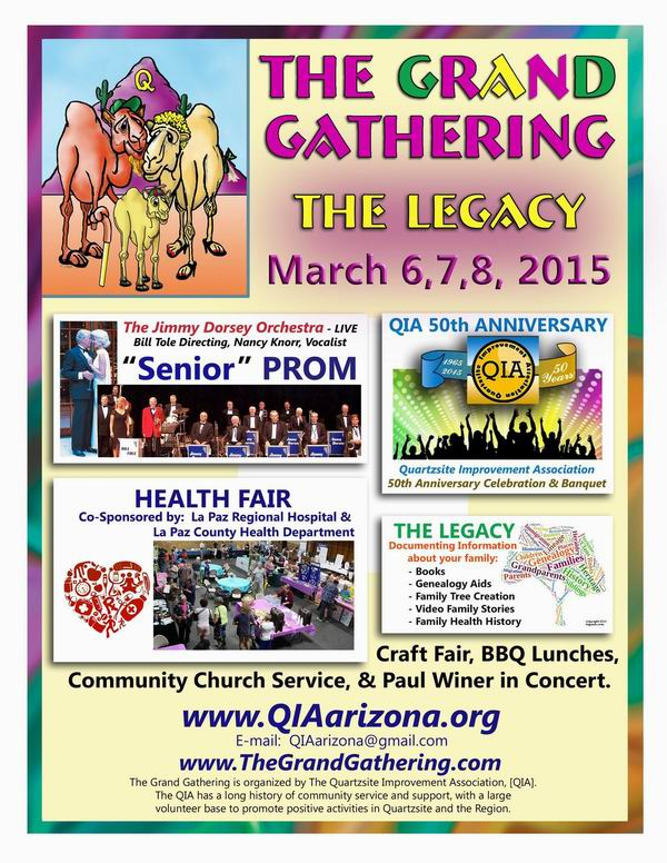 The Grand Gathering Info 2015