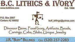 BC Lithics & Ivory