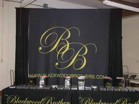 Blackwwod Brothers display of CD's