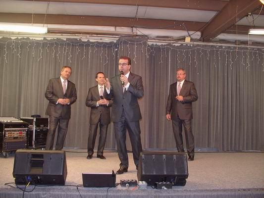 Michael singing Tenor