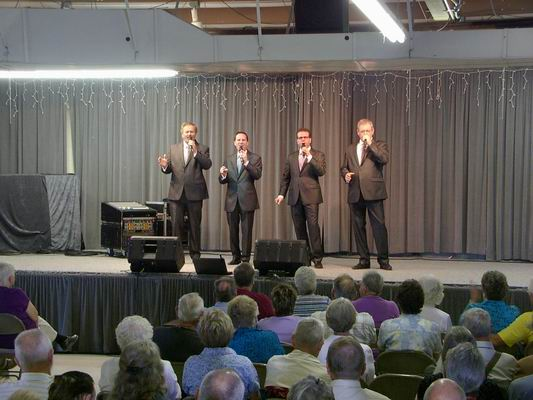 Blackwood Brothers with more Harmony