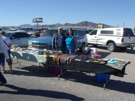 Larry & Sandy - QIA Craft Fair