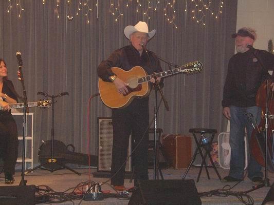 Dolan Ellis on stage at the QIA