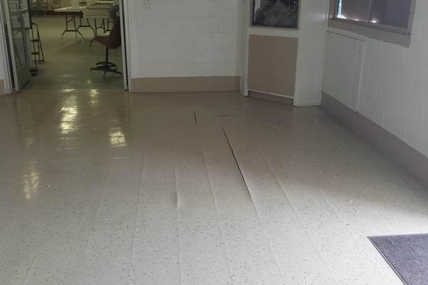 QIA Dining Room Floor