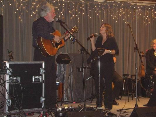 Greg & Jennifer performing a duet of Greg's song -