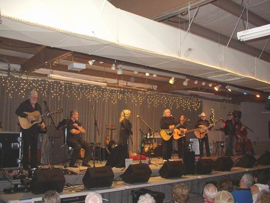 New Christy Minstrels on stage at the Q