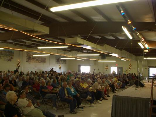 Capacity Crowd for Paul Winer Concert at the QIA
