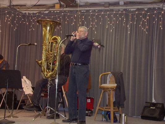 Will Pirone - Harmonica - all the way from Boston!!