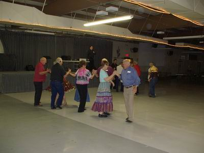 Square Dancing at the QIA